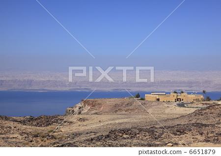 Dead Sea Panorama and Dead Sea 6651879