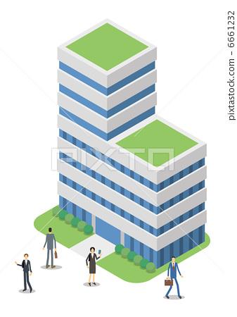Company and businessman 6661232