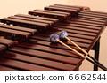 木琴 风仪器 敲打 6662544