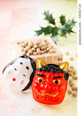 Setsubun Festival Red Devil The Last Day Of Winter In The