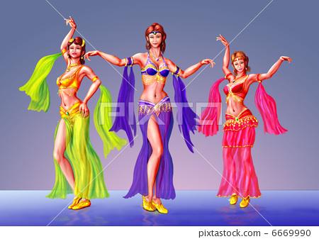 Belly dance 6669990