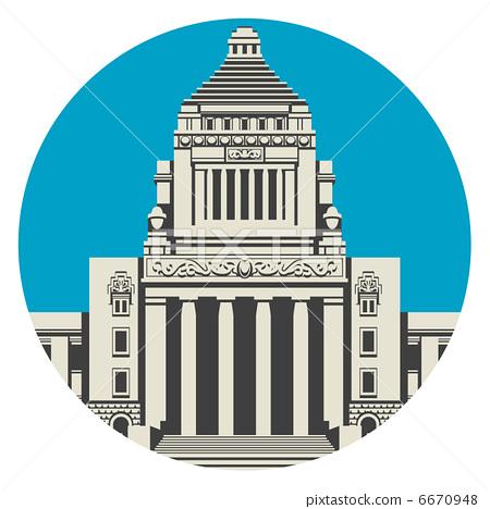Parliament House / Japan 6670948