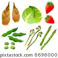 春天的蔬菜 6696000