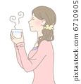 茶點 下午茶時間 女性 6710905