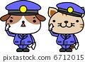 狗的警察和一隻貓的警察 6712015