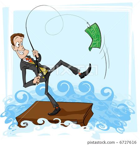 A catch is Businessman 6727616