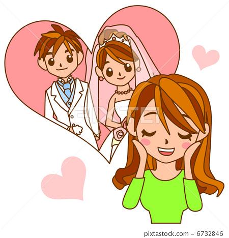 Expectation of swelling towards wedding ceremonies 6732846