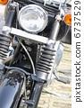 一辆摩托车 6737529
