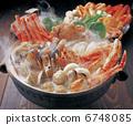 Crab crab seafood pan 6748085