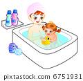 洗个澡 6751931