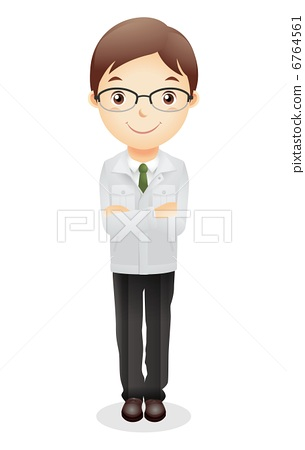 Work clothes male illustration 6764561