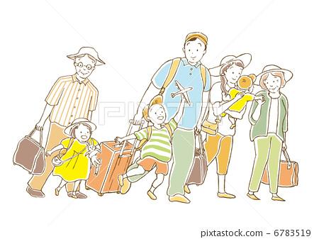 가족 여행 6783519