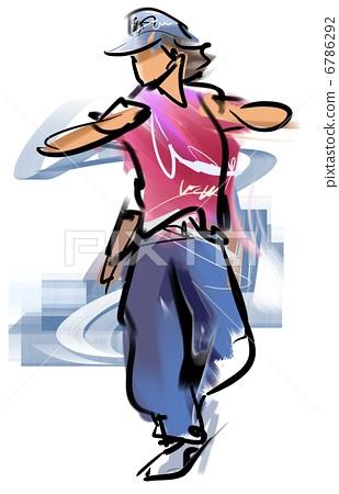 Break dance 6786292