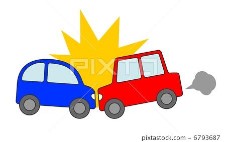 汽車追尾事故 6793687