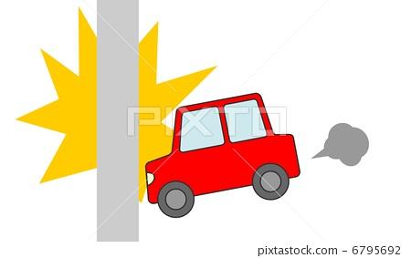 Car crash poles 6795692