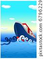 貨船 集裝箱船 航海 6796229