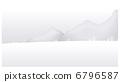 Snow mountain landscape 6796587