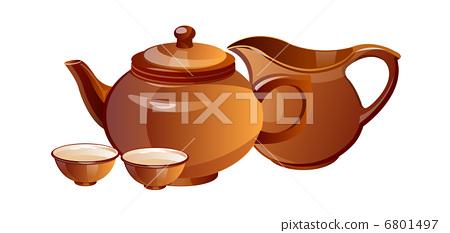 vector icon tea pot 6801497