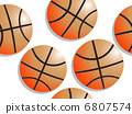 basketball pattern 6807574