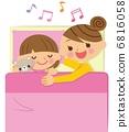 睡在一起 媽媽 母親 6816058