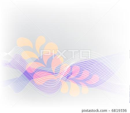 Fresh spring flower. Vector illustration 6819336