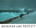 汹涌前进 大浪 高波 6825177