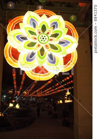 韓國Gangnam-myeongung Bongeunsa燈會花燈 6841370