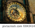 Prague Astronomical Clock, Orloj,  in the Old Town of Prague 6843414