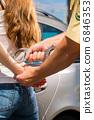 handcuffs, manacles, handcuff 6846353