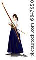 japanese archery, person, women 6847950