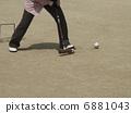 hitting, gate ball, game 6881043