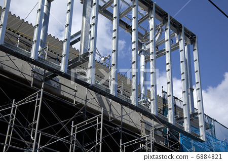 Building under construction 6884821
