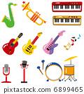 各種樂器 6899465