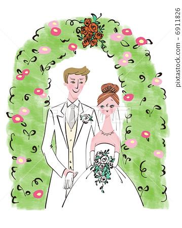 婚礼 结婚 婚姻 6911826