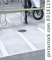 Coin parking only for motorbike 6918119