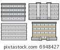 公寓大楼 6948427