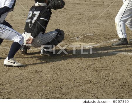 Grass baseball 6967850