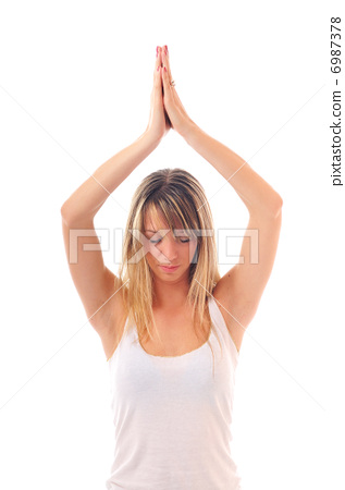 woman yoga 6987378
