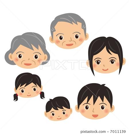 Japanese family 7011139