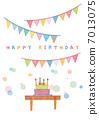 生日賀卡(蛋糕) 7013075