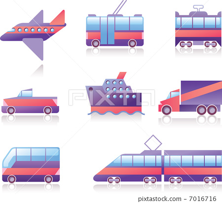 Transportation Icons 7016716