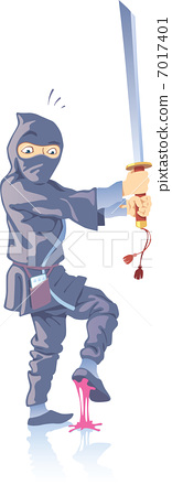 Ninja and the Bubble Gum 7017401