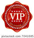 VIP frame emblem medal 7041685