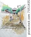 나라 도다이지 니 가쓰 당의 스케치 그림 7051435