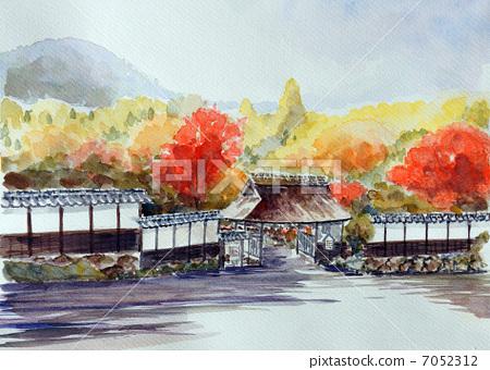 Sketch painting of Sato Sakamoto 7052312