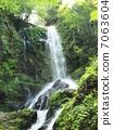 Rain waterfalls 7063604