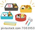 4個家庭成員的午餐盒 7063950