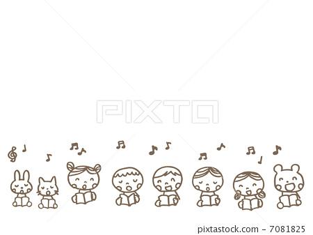Children singing 7081825