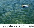 snorkeling, snorkel, blue 7133494
