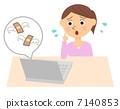 女性PC欺詐 7140853